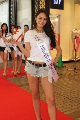 Miss Higashi Tokyo wins Miss Marui Special Award