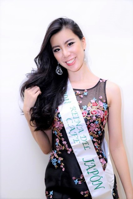 Miss Japon y Reina Internacional del Cafe 2018